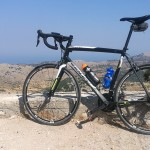 Road biking Lefkada