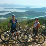 mountain biking Lefkas