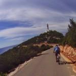 Biking Lefkada