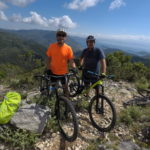 mountain biking Lefkas